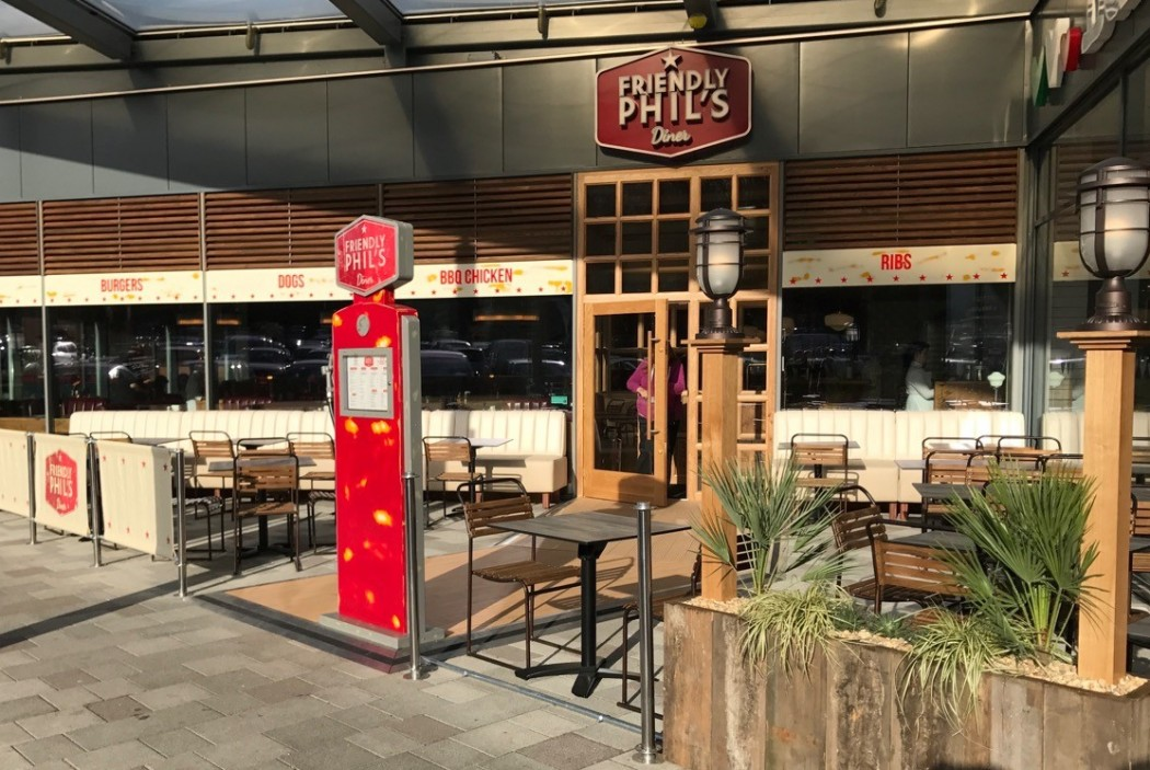 Friendly Phil's Diner - Hempstead Valley Retail Park, Gillingham