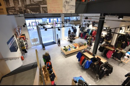 Recently completed - Ellis Brigham Mountain Sports.  The family owned and run, high performance authentic outdoor brands store has recently opened a 9000 sq ft store at the new open-air shopping and leisure development Bond Street, situated in the heart of Chelmsford City Centre.Interior