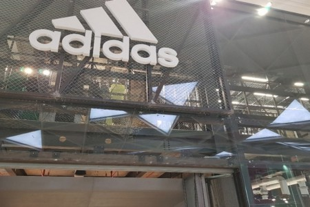 Adidas at Westfield, London, Signage