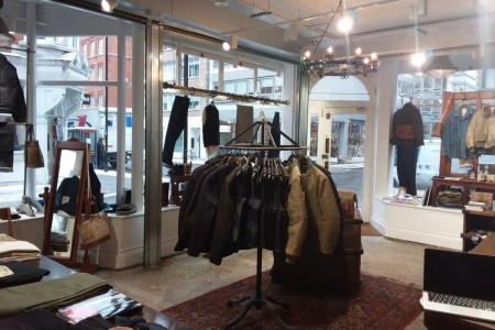 Recently completed - Lightning Clutch at Great Portland Street, Fitzrovia, London, Interior, Clothing, Rustic, Industrial