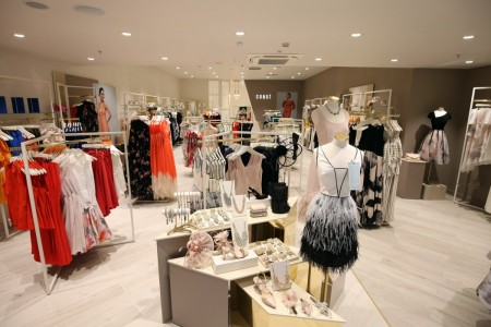 Coast, Womenswear, Victoria Square, Belfast, Interior