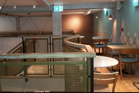 Another recently completed Wildwood Restaurant in Bournemouth, 1st Floor, Tiling