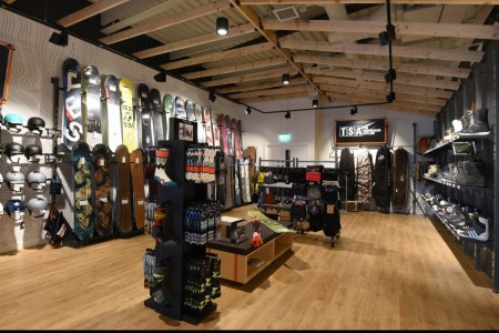 Recently completed - Ellis Brigham Mountain Sports.  The family owned and run, high performance authentic outdoor brands store has recently opened a 9000 sq ft store at the new open-air shopping and leisure development Bond Street, situated in the heart of Chelmsford City Centre.