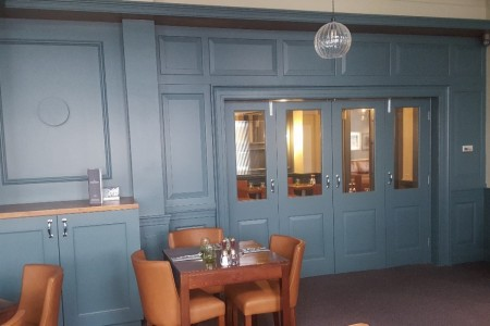 Chequers Hotel Newbury, Refurbishment, High-end, Bespoke Joinery