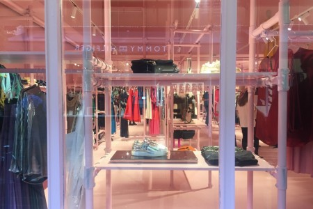 Recently Completed - British Fashion Council Pop-up Shop at Bicester Village.