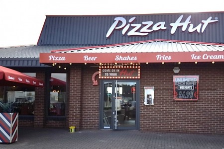 Pizza Hut Roaring Meg Retail Park Stevenage