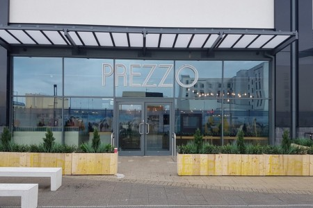 Prezzo have opened a fresh new look restaurant on Central Walk, Weston Super Mare, Shopfront, Exterior