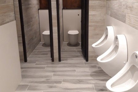 Customer Toilets at Clarks Village, Street, Somerset.