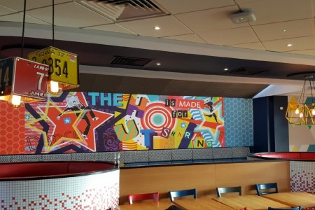 Recently completed - Pizza Hut, Roaring Meg Retail Park, Stevenage