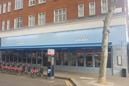 Another Megan's Restaurant completed on the High Street in Kensington.