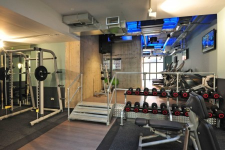 Something different for Oakwoods!  The refurbishment of the Gym and Games Room at the Student Accomodation in Spitalfields, London.
