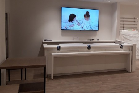 The White Company Windsor, Interior, Joinery, Counter