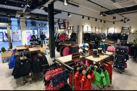 Recently completed - Ellis Brigham Mountain Sports.  The family owned and run, high performance authentic outdoor brands store has recently opened a 9000 sq ft store at the new open-air shopping and leisure development Bond Street, situated in the heart of Chelmsford City Centre. Interior