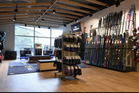 Recently completed - Ellis Brigham Mountain Sports.  The family owned and run, high performance authentic outdoor brands store has recently opened a 9000 sq ft store at the new open-air shopping and leisure development Bond Street, situated in the heart of Chelmsford City Centre. First Floor, Skiing, Bespoke Joinery